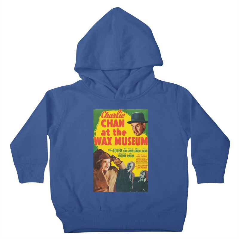 Charlie Chan at the Wax Museum, vintage movie poster Kids Toddler Pullover Hoody by ALMA VISUAL's Artist Shop