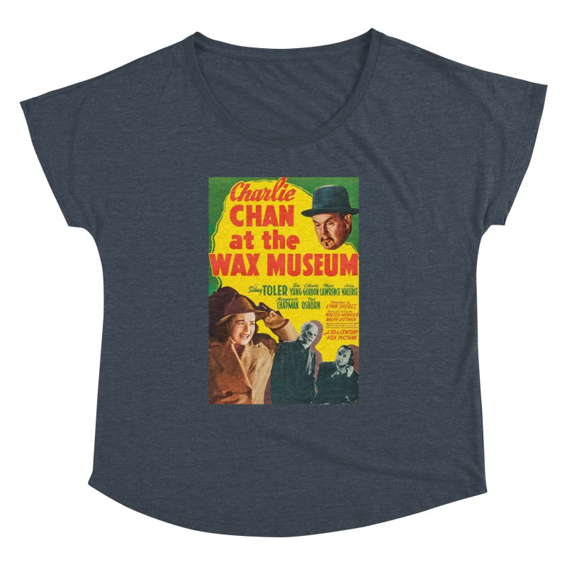 Charlie Chan at the Wax Museum, vintage movie poster Women's Dolman by ALMA VISUAL's Artist Shop
