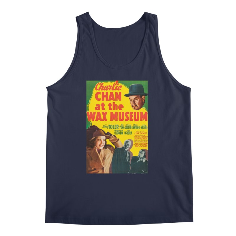 Charlie Chan at the Wax Museum, vintage movie poster Men's Tank by ALMA VISUAL's Artist Shop