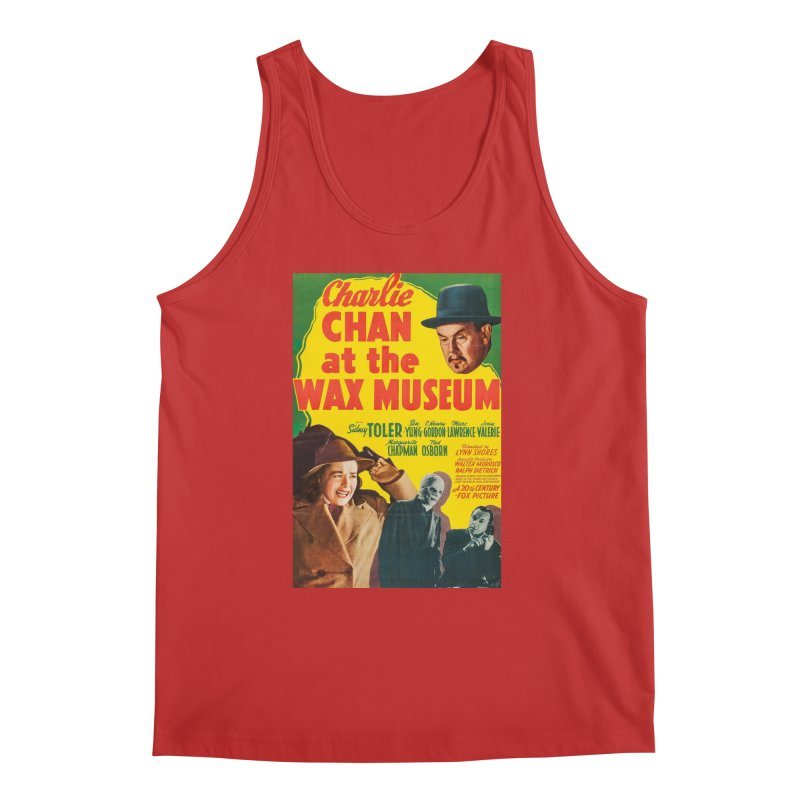 Charlie Chan at the Wax Museum, vintage movie poster Men's Regular Tank by ALMA VISUAL's Artist Shop