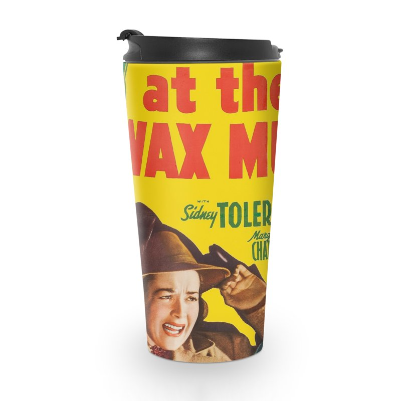 Charlie Chan at the Wax Museum, vintage movie poster Accessories Travel Mug by ALMA VISUAL's Artist Shop