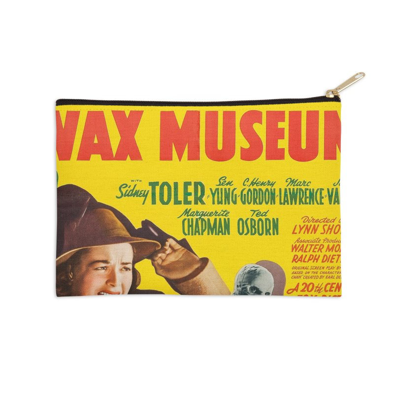 Charlie Chan at the Wax Museum, vintage movie poster Accessories Zip Pouch by ALMA VISUAL's Artist Shop