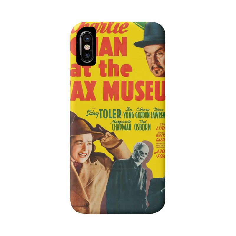 Charlie Chan at the Wax Museum, vintage movie poster Accessories Phone Case by ALMA VISUAL's Artist Shop