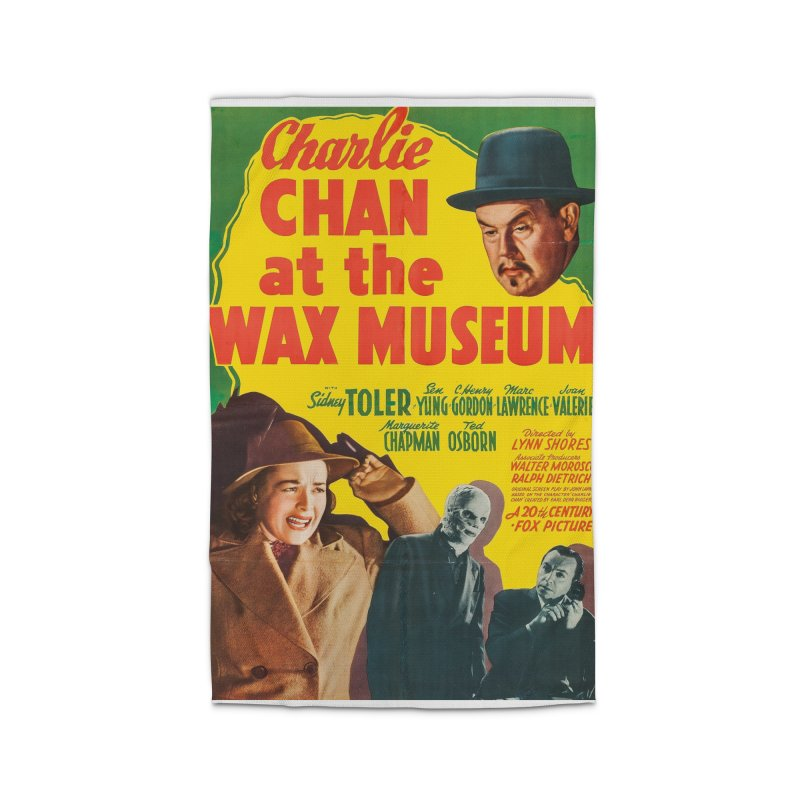 Charlie Chan at the Wax Museum, vintage movie poster Home Rug by ALMA VISUAL's Artist Shop