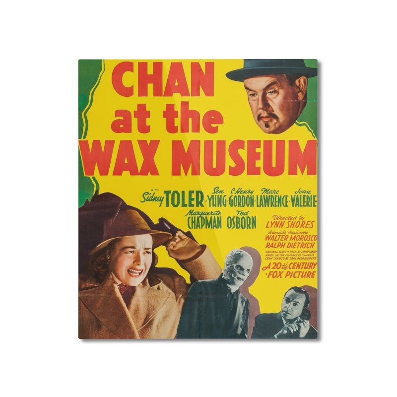 Charlie Chan at the Wax Museum, vintage movie poster Home Mounted Aluminum Print by ALMA VISUAL's Artist Shop