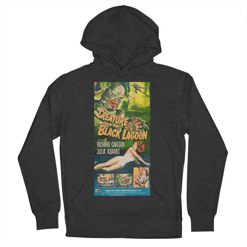 Creature from the Black Lagoon, vintage horror movie poster Women's Pullover Hoody by ALMA VISUAL's Artist Shop