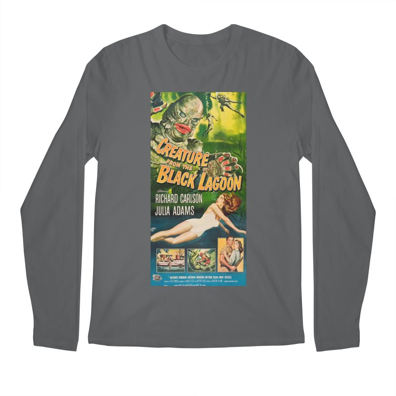 Creature from the Black Lagoon, vintage horror movie poster Men's Longsleeve T-Shirt by ALMA VISUAL's Artist Shop