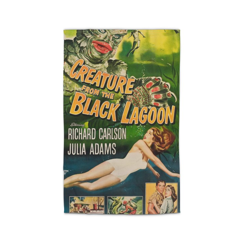 Creature from the Black Lagoon, vintage horror movie poster Home Rug by ALMA VISUAL's Artist Shop