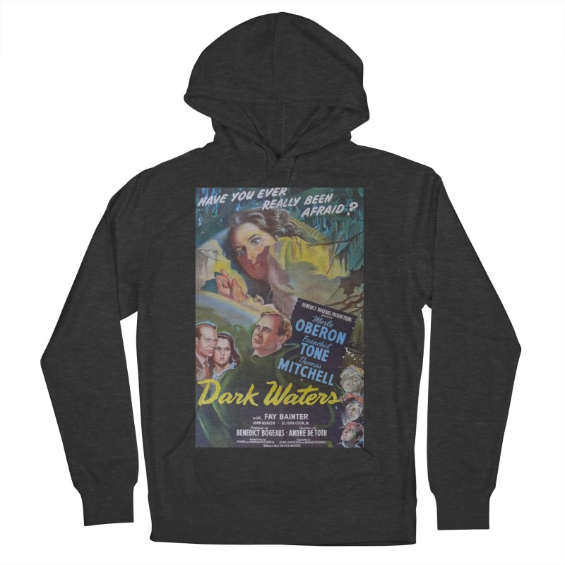Dark Waters, vintage horror movie poster Women's French Terry Pullover Hoody by ALMA VISUAL's Artist Shop