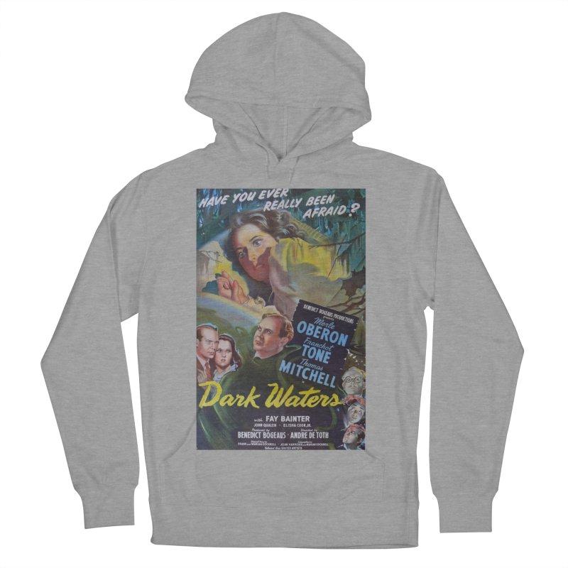Dark Waters, vintage horror movie poster Women's Pullover Hoody by ALMA VISUAL's Artist Shop