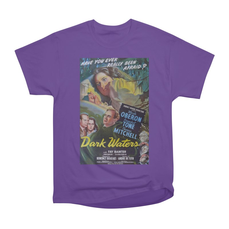 Dark Waters, vintage horror movie poster Men's Classic T-Shirt by ALMA VISUAL's Artist Shop