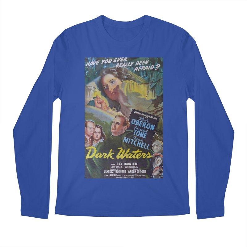 Dark Waters, vintage horror movie poster Men's Longsleeve T-Shirt by ALMA VISUAL's Artist Shop
