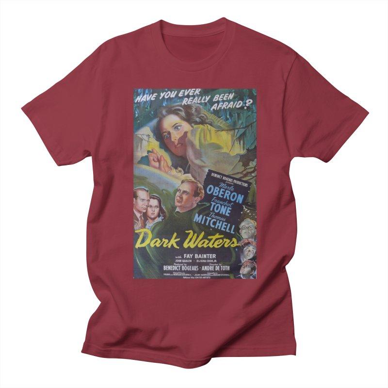 Dark Waters, vintage horror movie poster Women's Unisex T-Shirt by ALMA VISUAL's Artist Shop