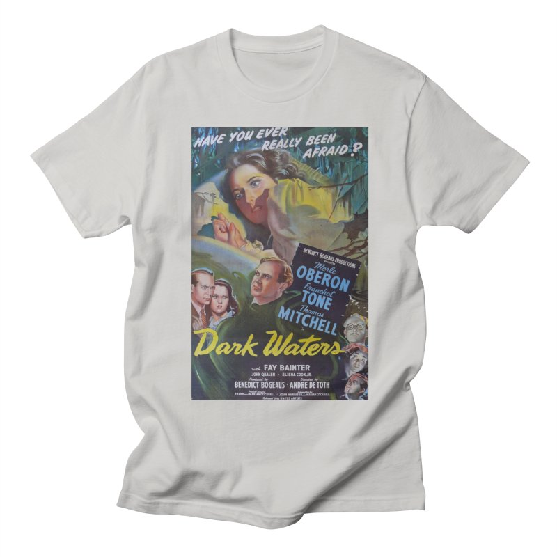 Dark Waters, vintage horror movie poster Women's Regular Unisex T-Shirt by ALMA VISUAL's Artist Shop