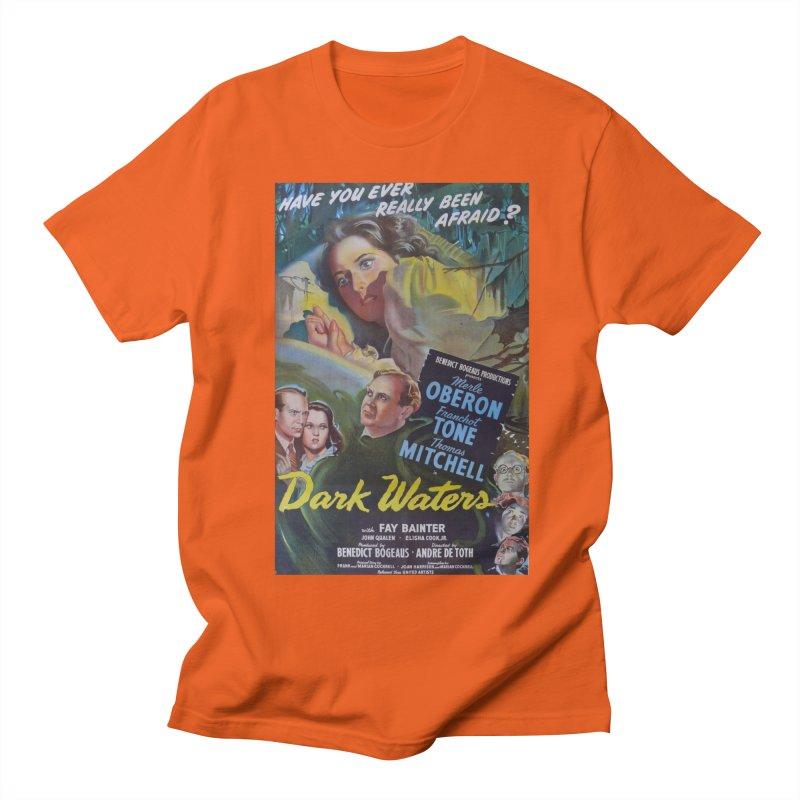Dark Waters, vintage horror movie poster Women's Regular Unisex T-Shirt by ALMA VISUAL's Artist Shop