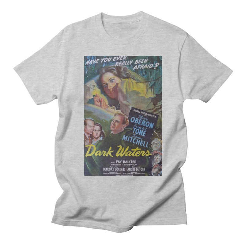 Dark Waters, vintage horror movie poster Women's Unisex T-Shirt by ALMA VISUAL's Artist Shop
