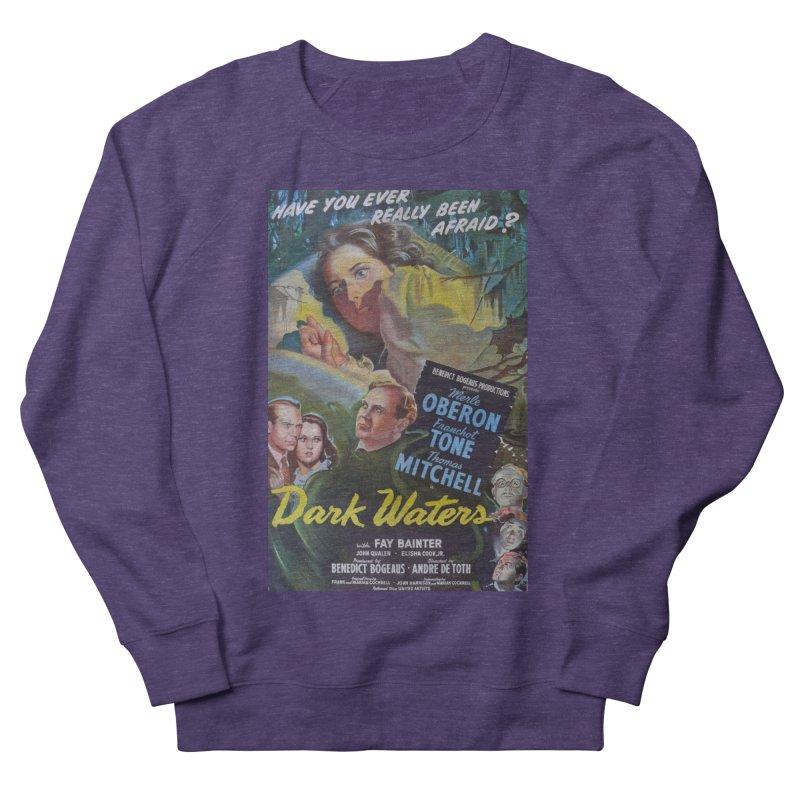 Dark Waters, vintage horror movie poster Women's Sweatshirt by ALMA VISUAL's Artist Shop