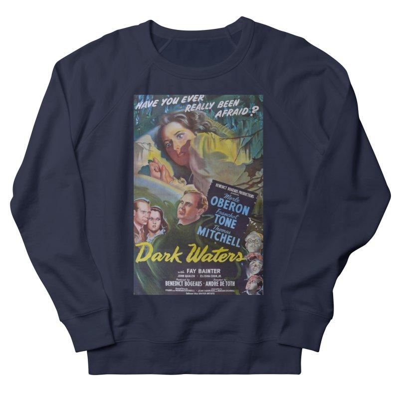 Dark Waters, vintage horror movie poster Men's Sweatshirt by ALMA VISUAL's Artist Shop