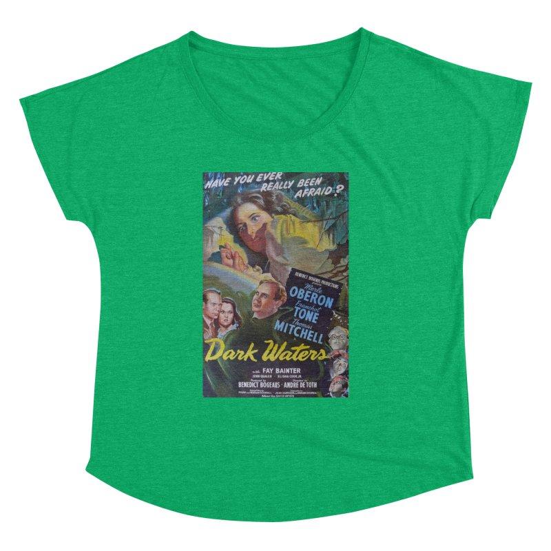 Dark Waters, vintage horror movie poster Women's Dolman by ALMA VISUAL's Artist Shop