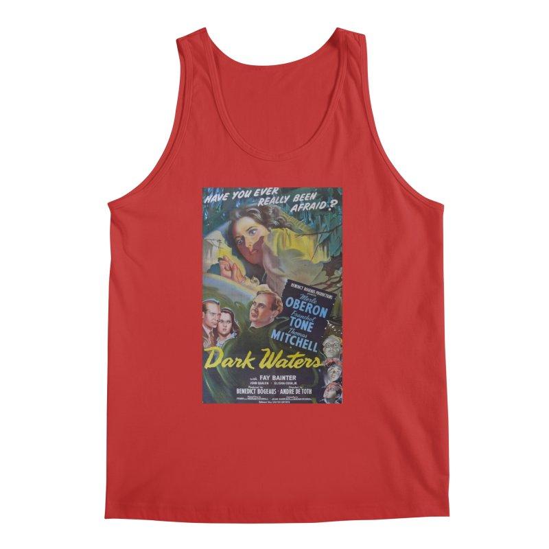 Dark Waters, vintage horror movie poster Men's Tank by ALMA VISUAL's Artist Shop