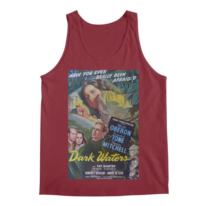 Dark Waters, vintage horror movie poster Men's Regular Tank by ALMA VISUAL's Artist Shop
