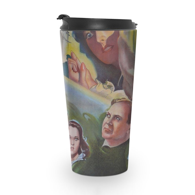 Dark Waters, vintage horror movie poster Accessories Travel Mug by ALMA VISUAL's Artist Shop