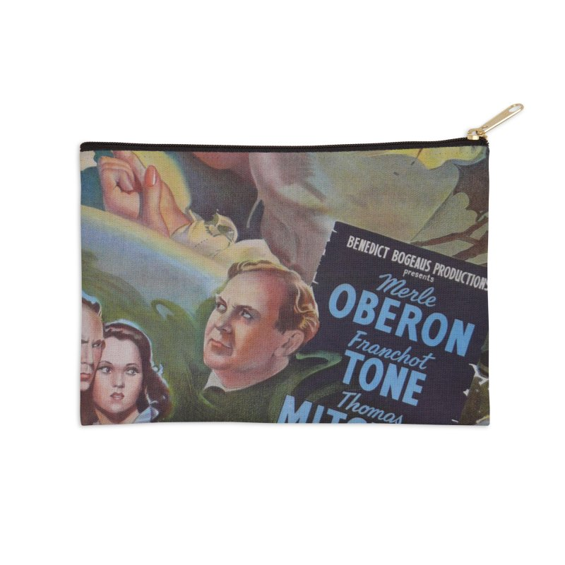 Dark Waters, vintage horror movie poster Accessories Zip Pouch by ALMA VISUAL's Artist Shop