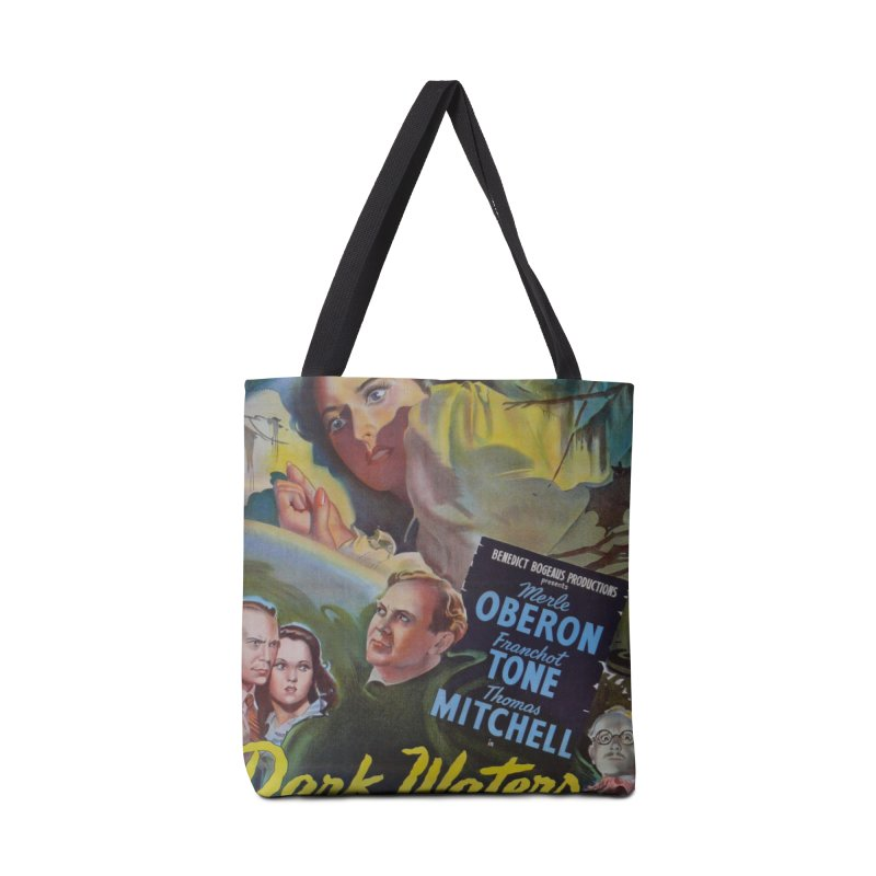 Dark Waters, vintage horror movie poster Accessories Tote Bag Bag by ALMA VISUAL's Artist Shop