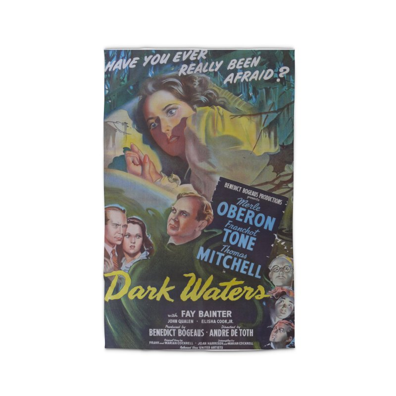 Dark Waters, vintage horror movie poster Home Rug by ALMA VISUAL's Artist Shop