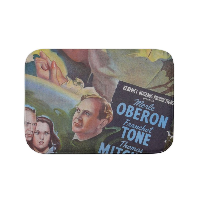 Dark Waters, vintage horror movie poster Home Bath Mat by ALMA VISUAL's Artist Shop