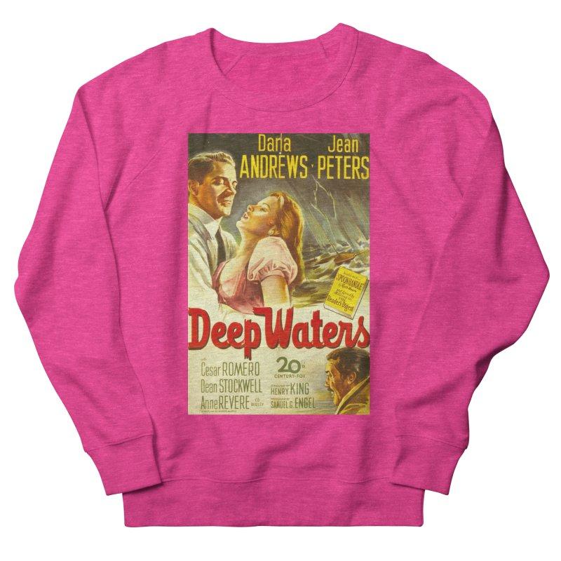 Deep Waters, vintage movie poster Women's Sweatshirt by ALMA VISUAL's Artist Shop
