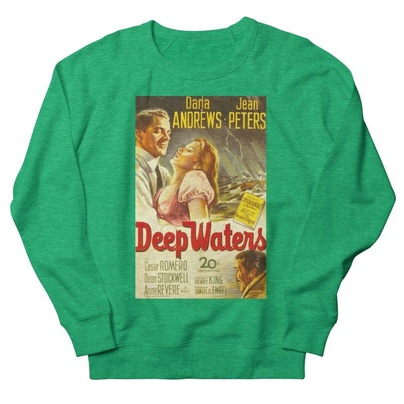 Deep Waters, vintage movie poster Men's Sweatshirt by ALMA VISUAL's Artist Shop