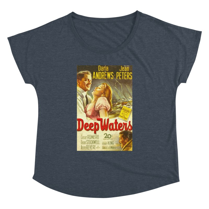 Deep Waters, vintage movie poster Women's Dolman by ALMA VISUAL's Artist Shop