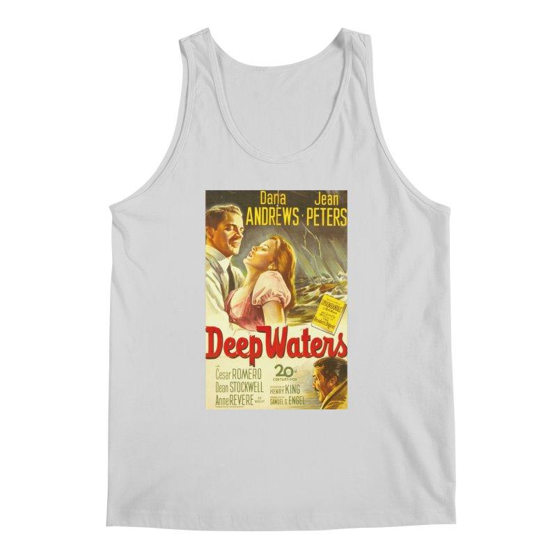 Deep Waters, vintage movie poster Men's Regular Tank by ALMA VISUAL's Artist Shop