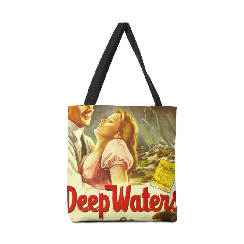 Deep Waters, vintage movie poster Accessories Bag by ALMA VISUAL's Artist Shop