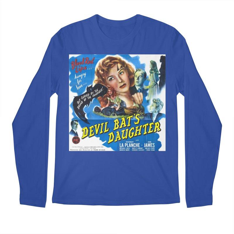 Devil Bat's Daughter, vintage horror movie poster Men's Longsleeve T-Shirt by ALMA VISUAL's Artist Shop