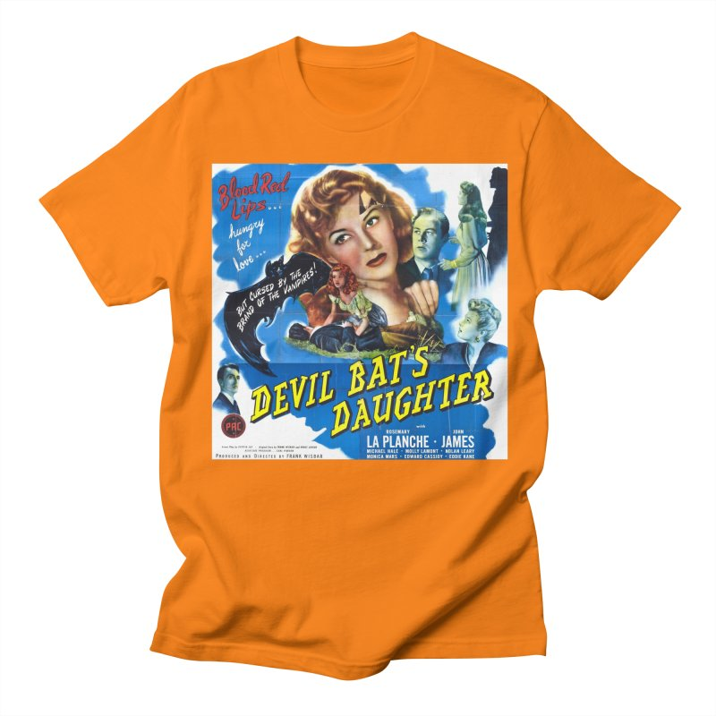 Devil Bat's Daughter, vintage horror movie poster Women's Regular Unisex T-Shirt by ALMA VISUAL's Artist Shop