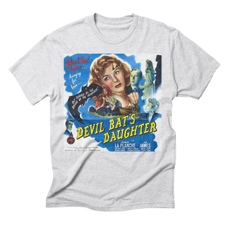 Devil Bat's Daughter, vintage horror movie poster Men's Triblend T-shirt by ALMA VISUAL's Artist Shop