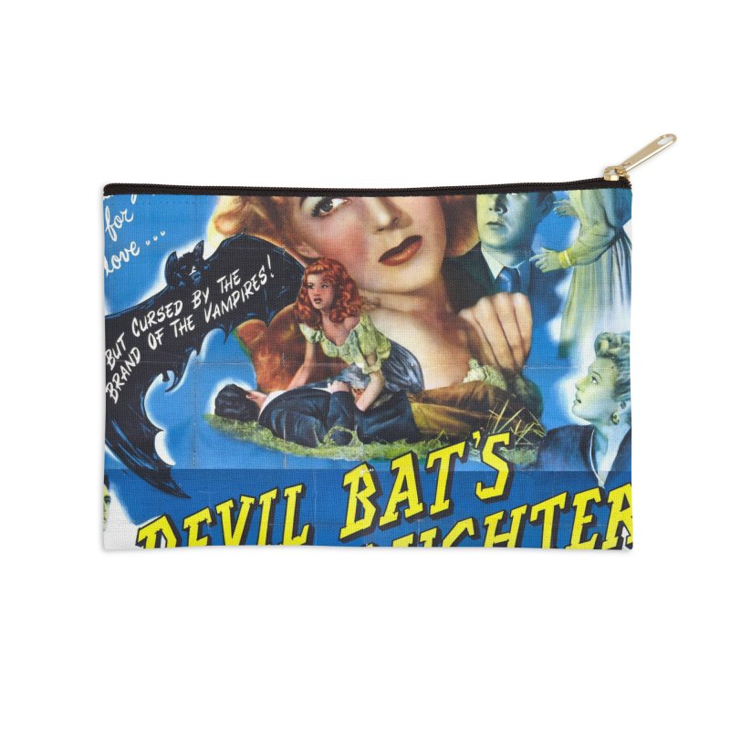 Devil Bat's Daughter, vintage horror movie poster Accessories Zip Pouch by ALMA VISUAL's Artist Shop