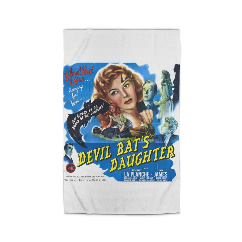 Devil Bat's Daughter, vintage horror movie poster Home Rug by ALMA VISUAL's Artist Shop