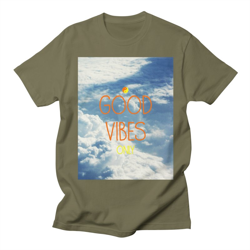 Good Vibes Only, sky Women's Unisex T-Shirt by ALMA VISUAL's Artist Shop
