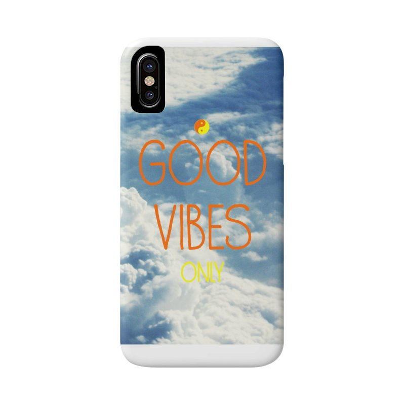 Good Vibes Only, sky Accessories Phone Case by ALMA VISUAL's Artist Shop