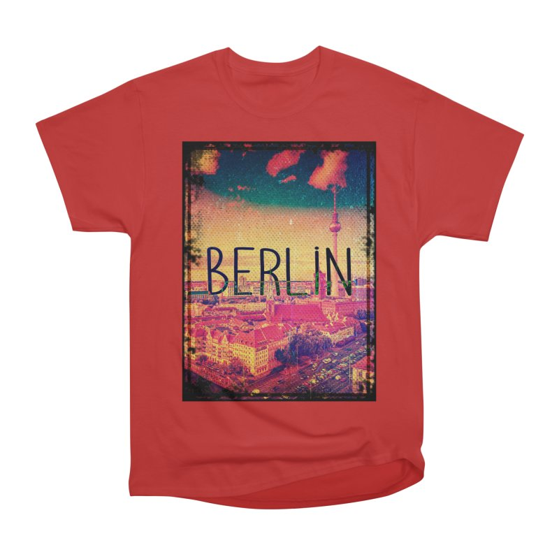 Berlin, vintage Women's Heavyweight Unisex T-Shirt by ALMA VISUAL's Artist Shop