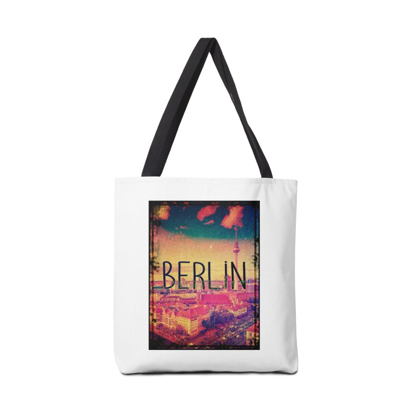 Berlin, vintage Accessories Tote Bag Bag by ALMA VISUAL's Artist Shop