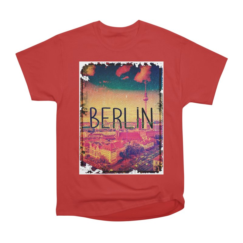 Berlin, vintage Women's Heavyweight Unisex T-Shirt by ALMA VISUAL's Artist Shop