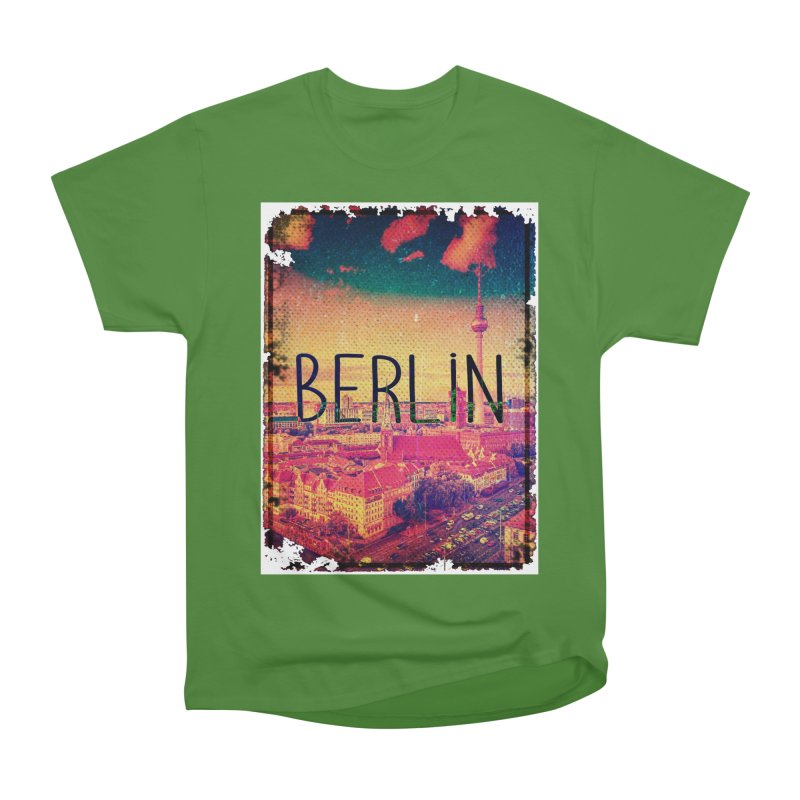 Berlin, vintage Men's Classic T-Shirt by ALMA VISUAL's Artist Shop