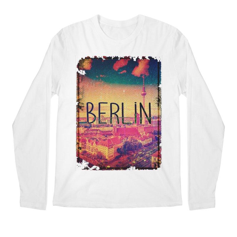 Berlin, vintage Men's Longsleeve T-Shirt by ALMA VISUAL's Artist Shop