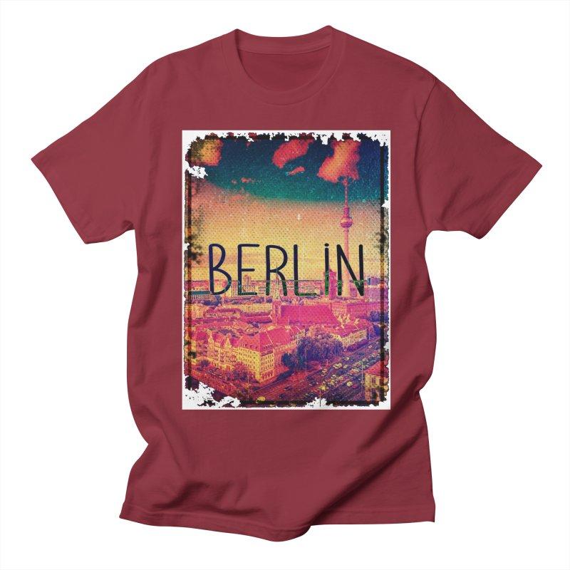 Berlin, vintage Women's Unisex T-Shirt by ALMA VISUAL's Artist Shop