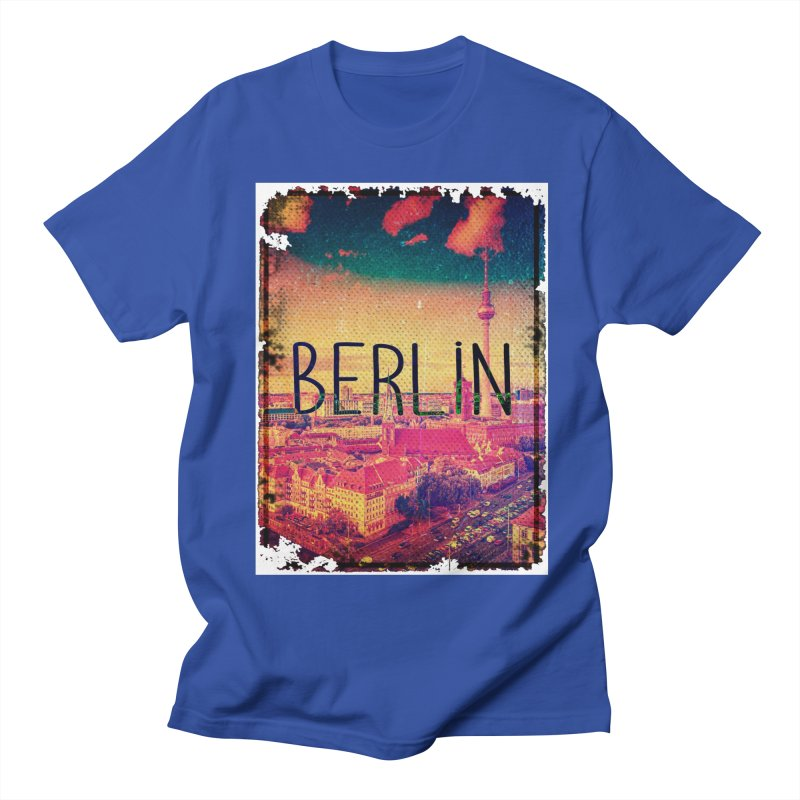 Berlin, vintage Women's Unisex T-Shirt by ALMA VISUAL's Artist Shop