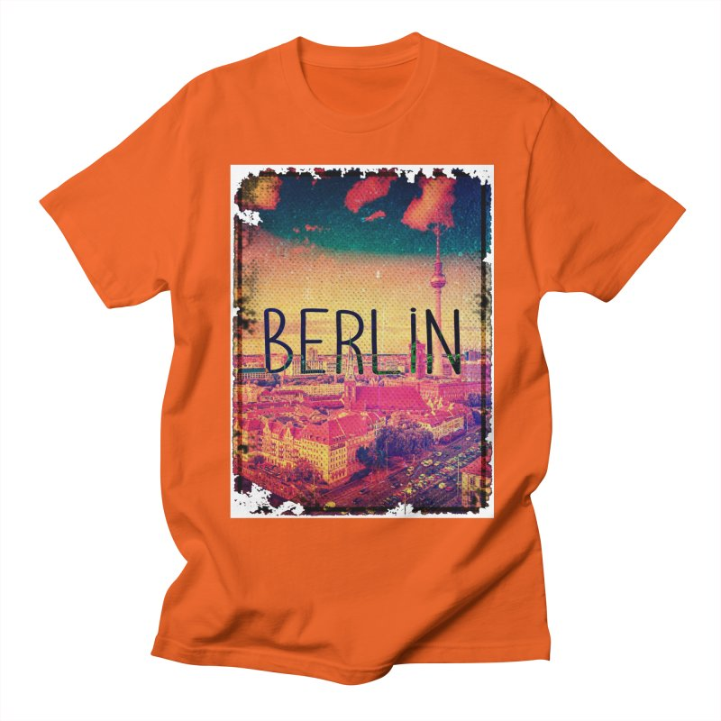 Berlin, vintage Women's Regular Unisex T-Shirt by ALMA VISUAL's Artist Shop